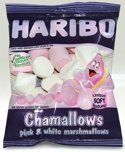 HP08 HARIBO CHAMALLOWS 12 BAGS x 140G